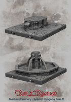 Medieval Scenery - Special Dwarven Dungeon Tiles 2