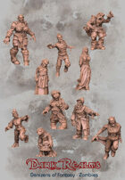 Denizens of Fantasy - Zombie Townsfolk
