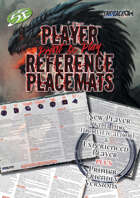 New Player Reference Placemat - Print and Play