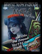 MAPS YOUR PARTY WILL DIE FOR Digital Maps Package