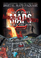 MAPS YOUR PARTY WILL DIE FOR 2: MEGA-DUNGEON Digital Maps Package