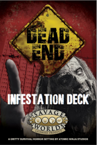 Dead End: Infestation Deck