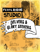 Feral Indie Studio Art Pack - Delvers and Glory Seekers