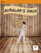 5E Equipment Cards: Burglar's Pack