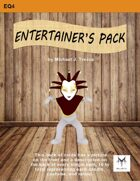 5E Equipment Cards: Entertainer's Pack