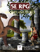 5E RPG: Ancient Adventures