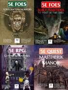 5E RPG: Gothic Horror [BUNDLE]