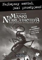 Zew Cthulhu 7ed. - Starter Maski Nyarlathotepa
