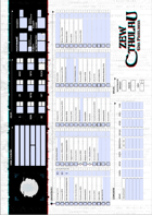 Zew Cthulhu 7ed. - Interaktywna Karta Badacza Współczesna