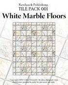 TilePack 001: White Marble Floors