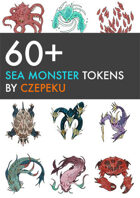60+ Sea Monster Tokens