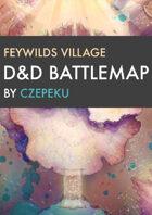 Feywild Village DnD Battlemaps