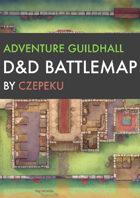 Adventure Guildhall DnD Battlemaps