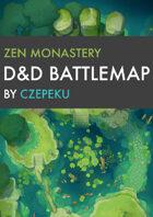 Zen Monastery DnD Battlemaps