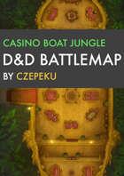 Casino Boat Jungle DnD Battlemaps