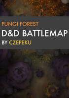 Fungi Forest DnD Battlemaps