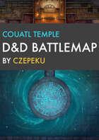 Couatl Temple DnD Battlemaps