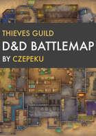 Thieves Guild DnD Battlemaps