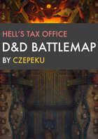 Hell's Tax Office DnD Battlemaps