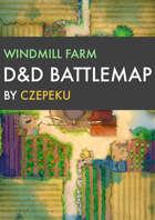 Windmill Farm DnD Battlemaps