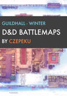 Guildhall - Winter Collection - DnD Battlemaps
