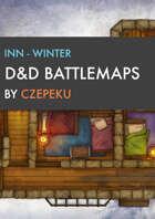 Inn - Winter Collection - DnD Battlemaps
