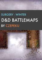 Surgery - Winter Collection - DnD Battlemaps