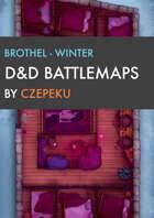 Brothel - Winter Collection - DnD Battlemaps