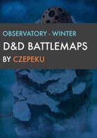 Observatory - Winter Collection - DnD Battlemaps