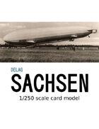 LZ-17 Sachsen (1/250 scale)
