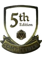 5th Edition (5e) Compatible Logo