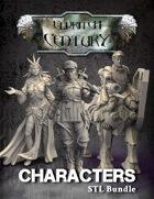 Eldritch Century - Characters STL bundle