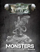 Eldritch Century - Monsters STL bundle