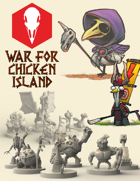 War for Chicken Island: STL files