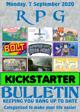 RPG Kickstarter Bulletin 7th September 2020