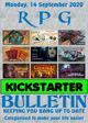 RPG Kickstarter Bulletin 14th September 2020