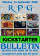 RPG Kickstarter Bulletin 14th September 2020