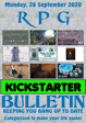 RPG Kickstarter Bulletin 28th September 2020
