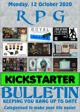RPG Kickstarter Bulletin 12th October 2020