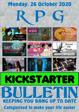 RPG Kickstarter Bulletin 26th October 2020