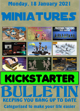 Miniatures Kickstarter Bulletin 18th January 2021