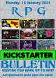RPG Kickstarter Bulletin 18th January 2021
