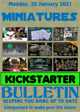 Miniatures Kickstarter Bulletin 25th January 2021