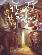 The Silence of Hollowind: Pin-Up Adventures