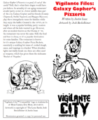 Vigilante Files: Galaxy Gopher's Pizzeria