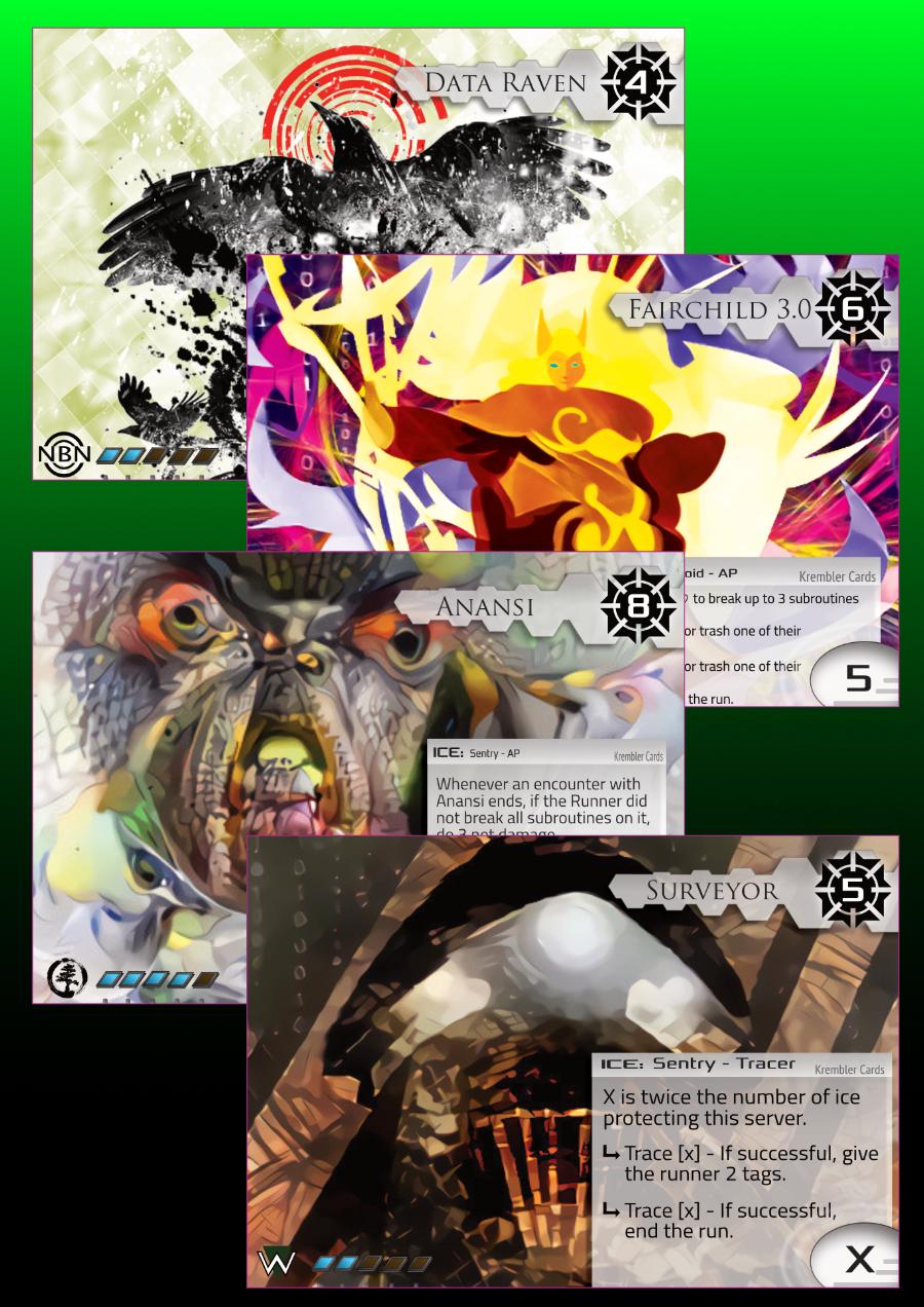 Krembler Cards Series 1 Ice pack revisited