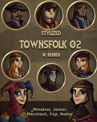 Stylized: Townsfolk 02