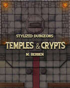 Stylized Dungeons: Temples and Crypts