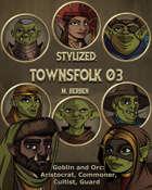Stylized: Townsfolk 03