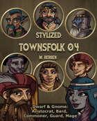 Stylized: Townsfolk 04